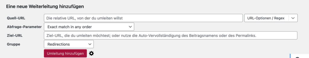 URL-Weiterleitung Plugin kostenlos